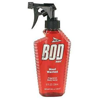 Bod Man Most Wanted By Parfums De Coeur Fragrance Body Spray 8 Oz (hommes) V728-498572
