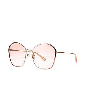 Chloe CH0015s 004 Naken / Oransje Gradient Solbriller