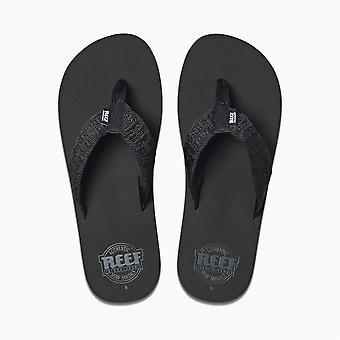 Reef Mens Sandals ~ Smoothy black