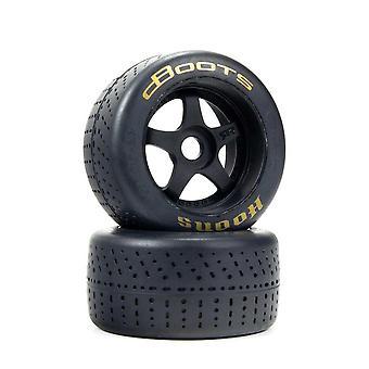 Arrma Z-ARA550085 DBoots Hoons 53/107 2.9 Gold Belted 5-Spoke Wheel & Tyres (2 Pieces)
