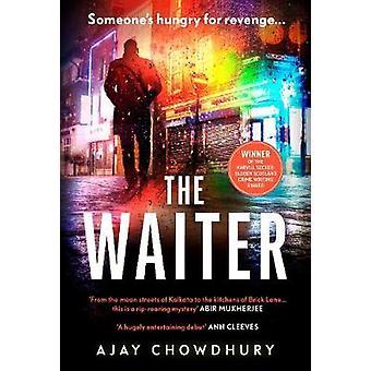 The Waiter het bekroonde eerste boek in een spannende nieuwe detectiveserie