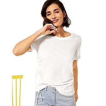 Cecil 316280 T-Shirt, Pure White, XS Woman