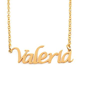 KL Kigu Valeria - Naisten kaulakoru muokattavissa nimi