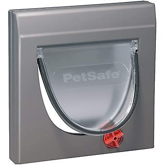 Staywell Klassische Katzenklappe, 4 manuelle Verschluss-Optionen, Für Holz, Glas, PVC, Ziegelwände