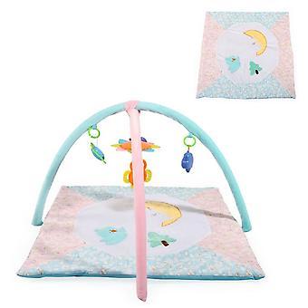 Moni Bow kruipen deken PQ286 Sparrow, vijf speelgoed met C-Ring, verwisselbare