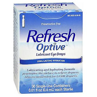Refresh Refresh Optive Lubricant Eye Drops Single-Use Containers, 30 ct