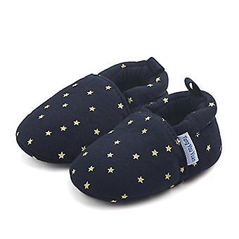 Säästä kaunis söpö sarjakuva vauva Unisex vauva lämmin puuvilla anti-slip pehmeä pohja ensimmäinen walkers kengät