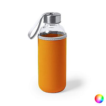 Lasipullo, jossa neopreenipeite 145513 (420 ml)