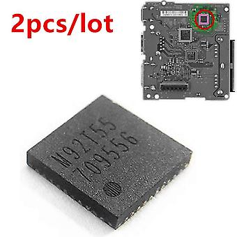 2Pcs NS switch control de carga motherboard HDMI-compatible ic chip m92t55 para nintendo switch reparación accesorios audio video
