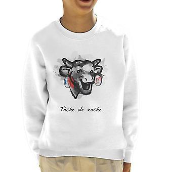 Naurava lehmä Tache De Vache Kidin collegepaita