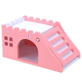 Süßes Mini Kleintier Haustier Hamster Haus
