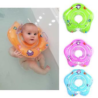 Baby Inflatable Swimming Ring Neck Swim Ring For Newborn Baby