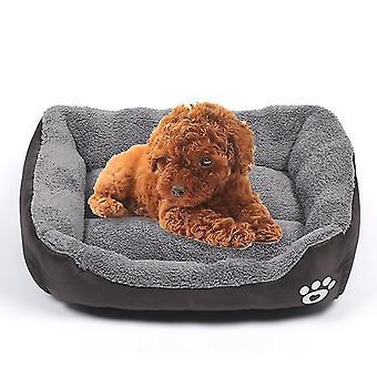 Candy Color Four Seasons Genuine Warm Pet Dog Kennel Mat Teddy Hundematte, Größe: XL, 80×60×16cm