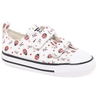 كونفيرس أكسفورد 2V الفتيات الرضع قماش الأحذية
