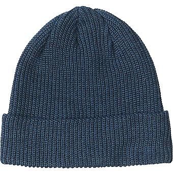 Quiksliver Unisex Adults Safe Keeping Warm Winter Knitted Cuff Beanie Hat - Blue