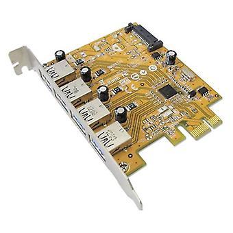 Sunix Usb4300Ns Pcie 4 Port Usb Card
