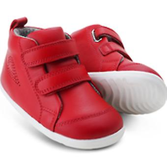 Bobux step up hi court red high tops