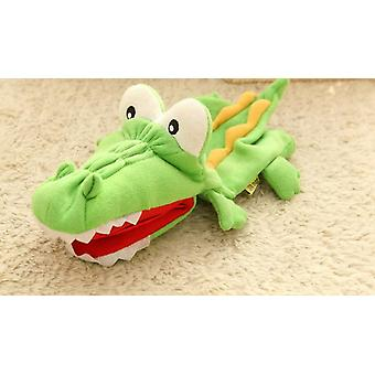 Plüschige Handpuppen Krokodil Puppe Eltern Kind Interaktive Fingerpuppe Plüschtiere| Puppen