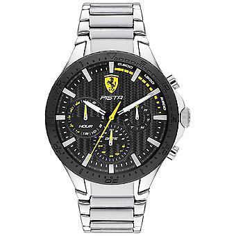 Scuderia Ferrari | Pista Dual Track | Black Textured Dial | 0830854 Watch