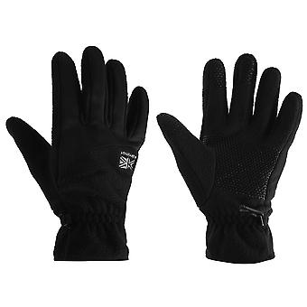 Karrimor Unisex Gloves Fleece Silicone Grip Pattern Winter Accessory