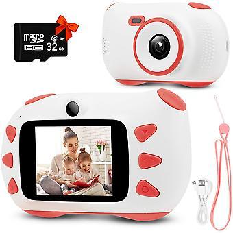 子供のカメラ、2インチIPSスクリーン付きデジタルカメラ