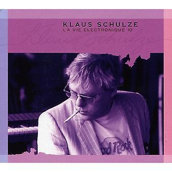 Klaus Schulze - Klaus Schulze: Vol. 10-La Vie Electronique [CD] USA import