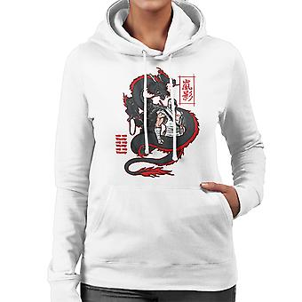 Arashikage Clan Storm Shadow Snake Eyes GI Dragon Joe Women's Hooded Sweatshirt