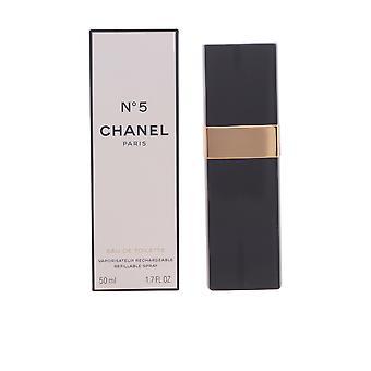 Chanel Nº 5 Edt Spray påfyllningsbara 50 Ml för kvinnor