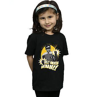 DC Comics jenter Batman TV serien Robin hellige røyker t-skjorte