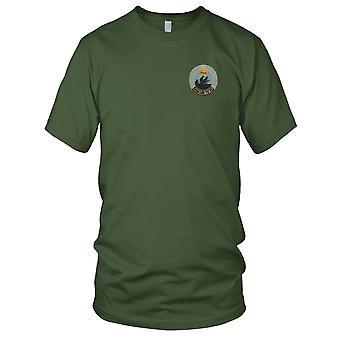 ARVN mensen Self Defense Group Zuid-Vietnam Nhan Dan Tu Ve - Vietnamoorlog geborduurde Patch - Mens T Shirt