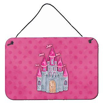 Princess Castle acquerello parete o porta appeso stampe