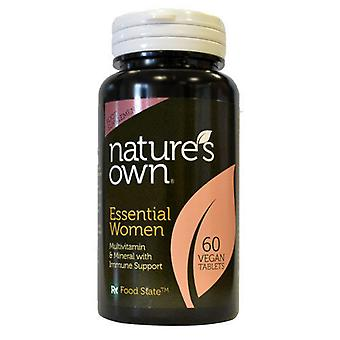 Natures Own Essential women (formerly called Ladies Gold MVM Formula designed for women aged 12-65), 60 Tablets