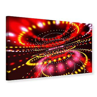 Canvas Print Abstract Light Game