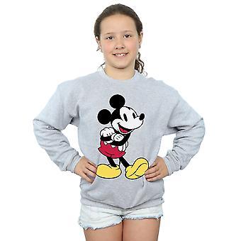 Disney Girls Mickey Mouse Classic Mickey Sweatshirt