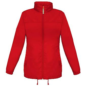 B&C Ladies Sirocco The Windbreaker showerproof foldaway Coat