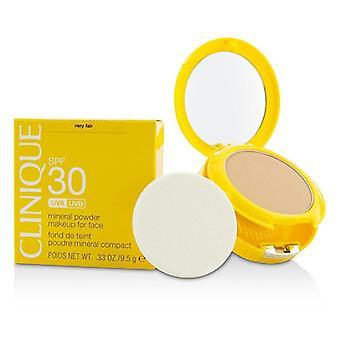 Sun SPF 30 minerale poeder make-up voor gezicht-zeer fair-9.5 g/0.33 oz
