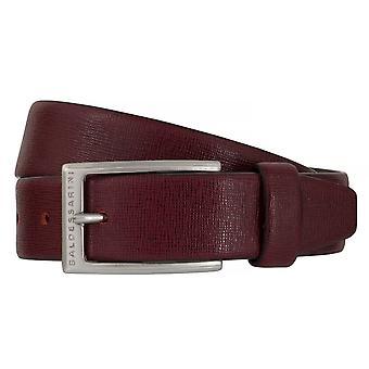 Ceintures de BALDESSARINI ceinture cuir ceintures hommes cuir rouge 6495