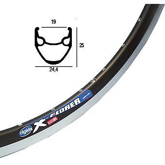 Ryde (Rigida) Xplorer bicycle wheel black / / 559-19 (26″)