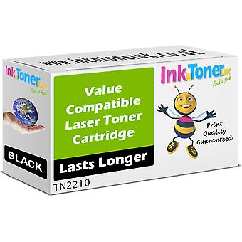 Compatible Brother TN-2210 Black Cartridge for Brother DCP-7070