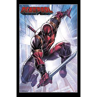 Deadpool - Attack Poster Print