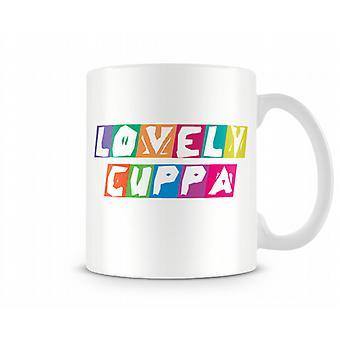 Lovely Cuppa Printed Mug
