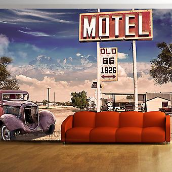 Wallpaper-Old Motel