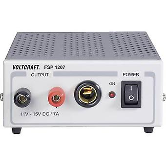 VOLTCRAFT FSP 1207 Bench PSU (fixed voltage) 11 - 15 V DC 7 A 105 W No. of outputs 1 x