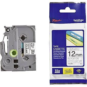 Labelling tape (metallic) Brother TZe, TZ TZe-M951 Tape colour: Silver (matt) Font colour:Black 24 mm 8 m