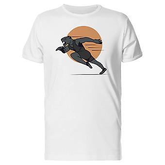 Running Panther In The Sun Tee Men's -Image by Shutterstock
