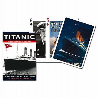 Titanic sett med 52 kort + jokere