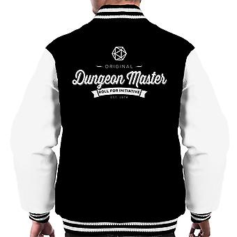 Original Spielleiter Dungeons And Dragons Männer Varsity Jacket