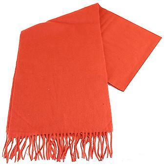 Bassin e Brown Sharp pianura Cashmere sciarpa - arancione