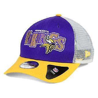 Minnesota Vikings NFL Nowa Era 9Forty młodzieży Trucker kapelusz Snapback