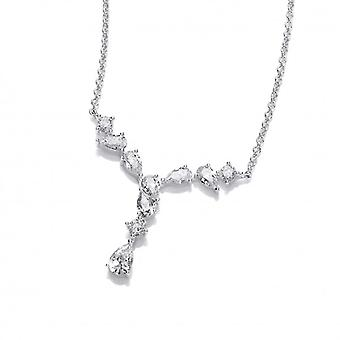 Cavendish French Silver and Cubic Zirconia Debutante Necklace